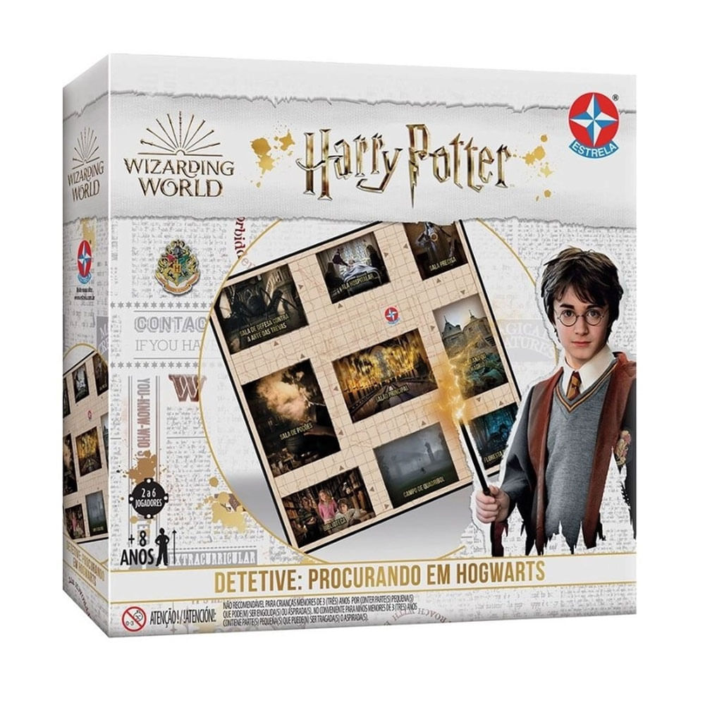 Jogo Detetive - Harry Potter - Estrela