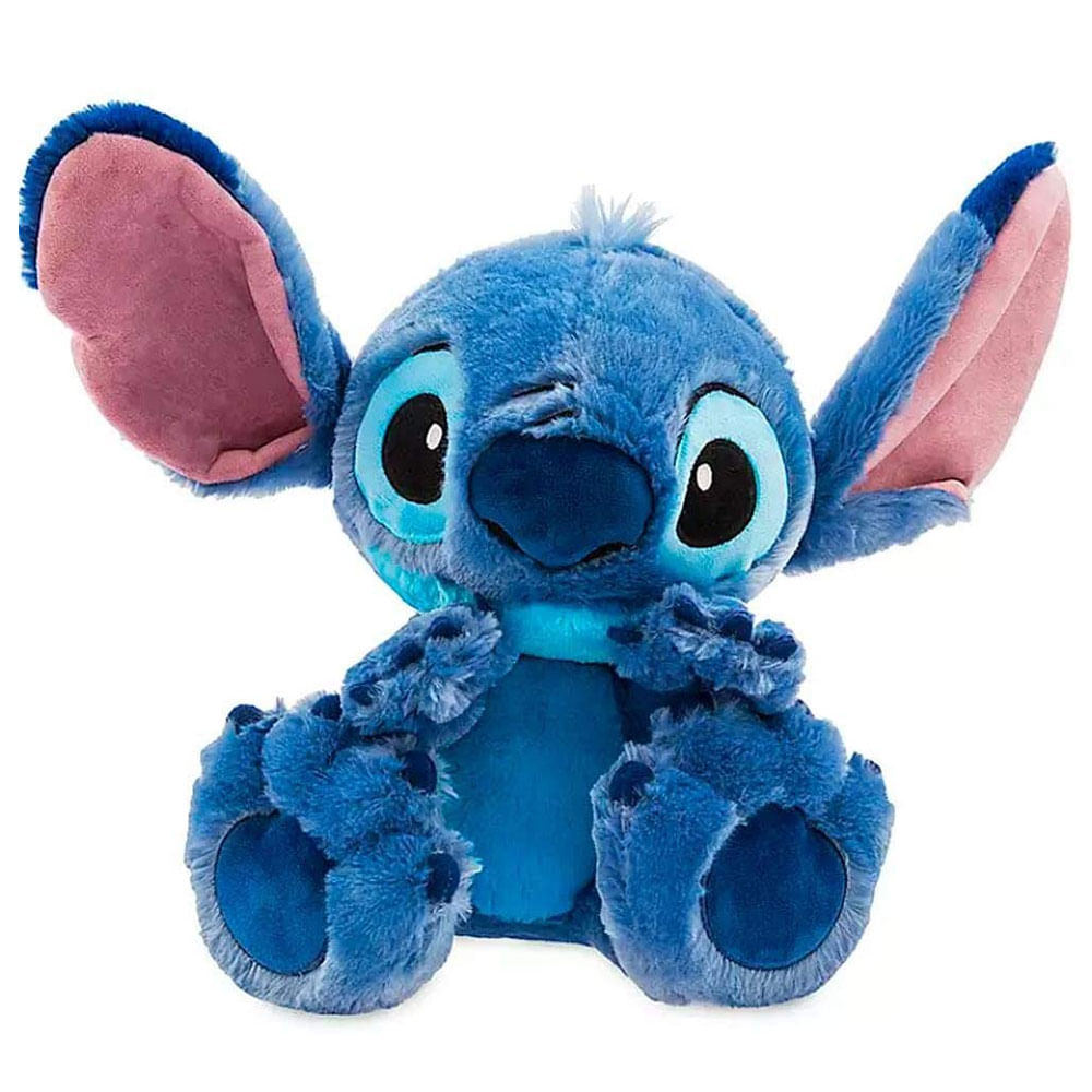 Pelúcia Disney - 25 Cm - Lilo e Stitch - Stitch - Big Feet - Fun