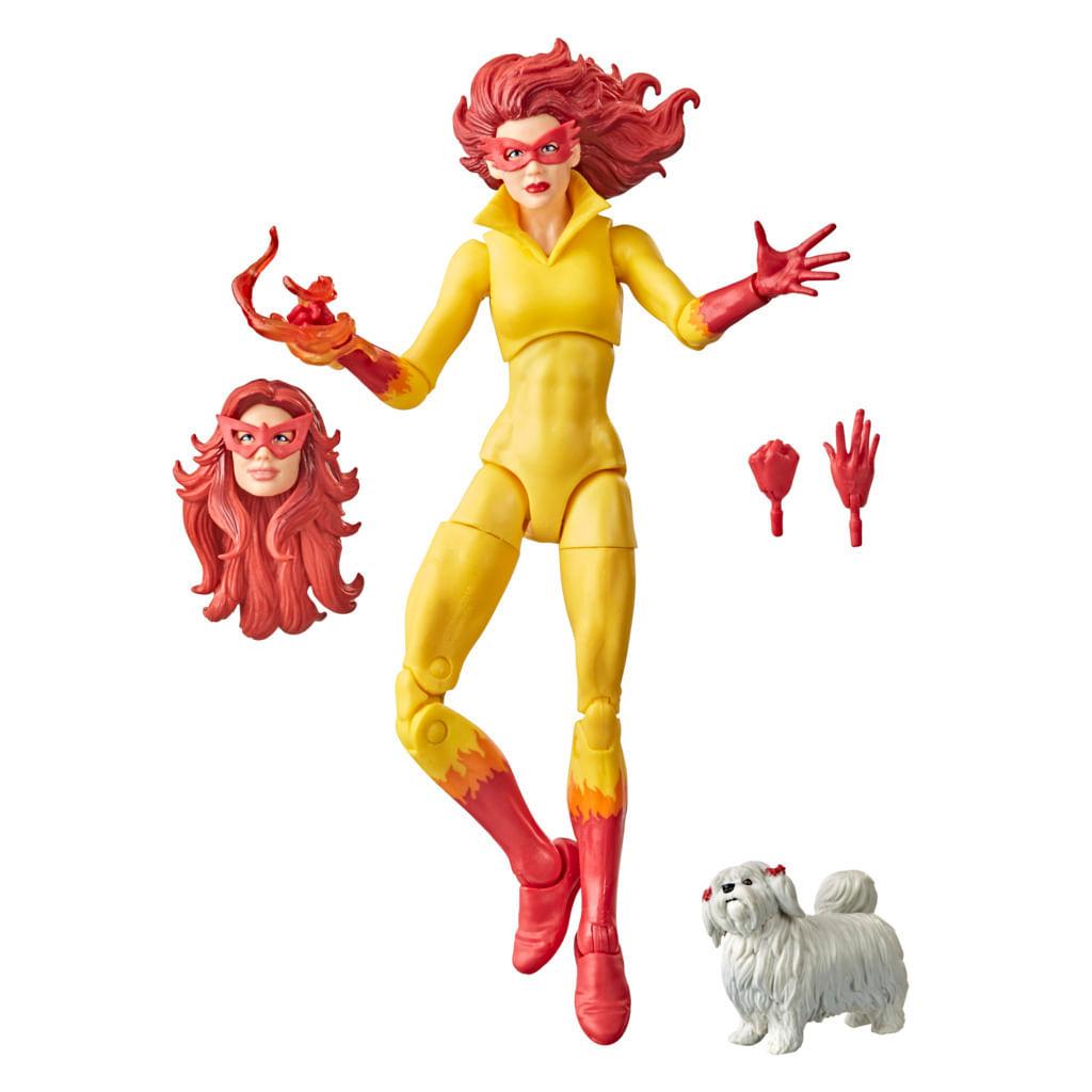 Boneca Articulada - 15Cm - Disney - Marvel Legends Series - Firestar - Hasbro