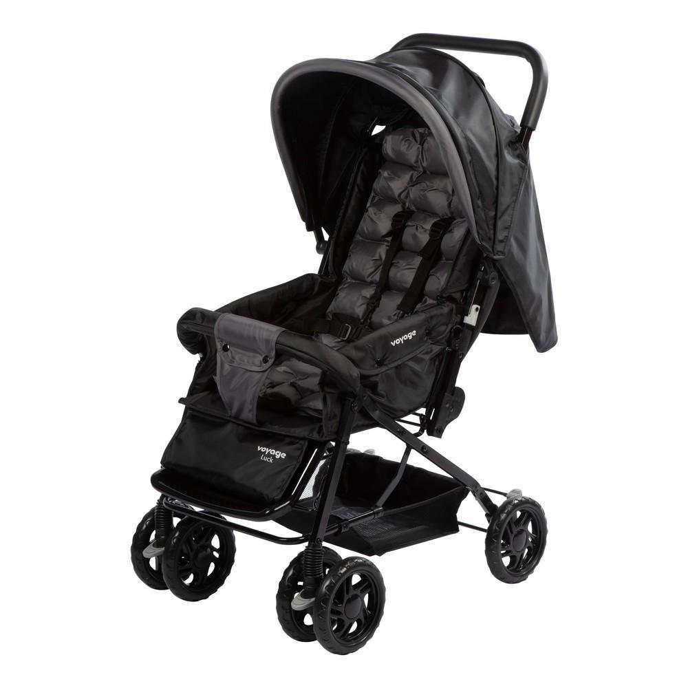 Carrinho de Bebê Luck Voyage - Preto