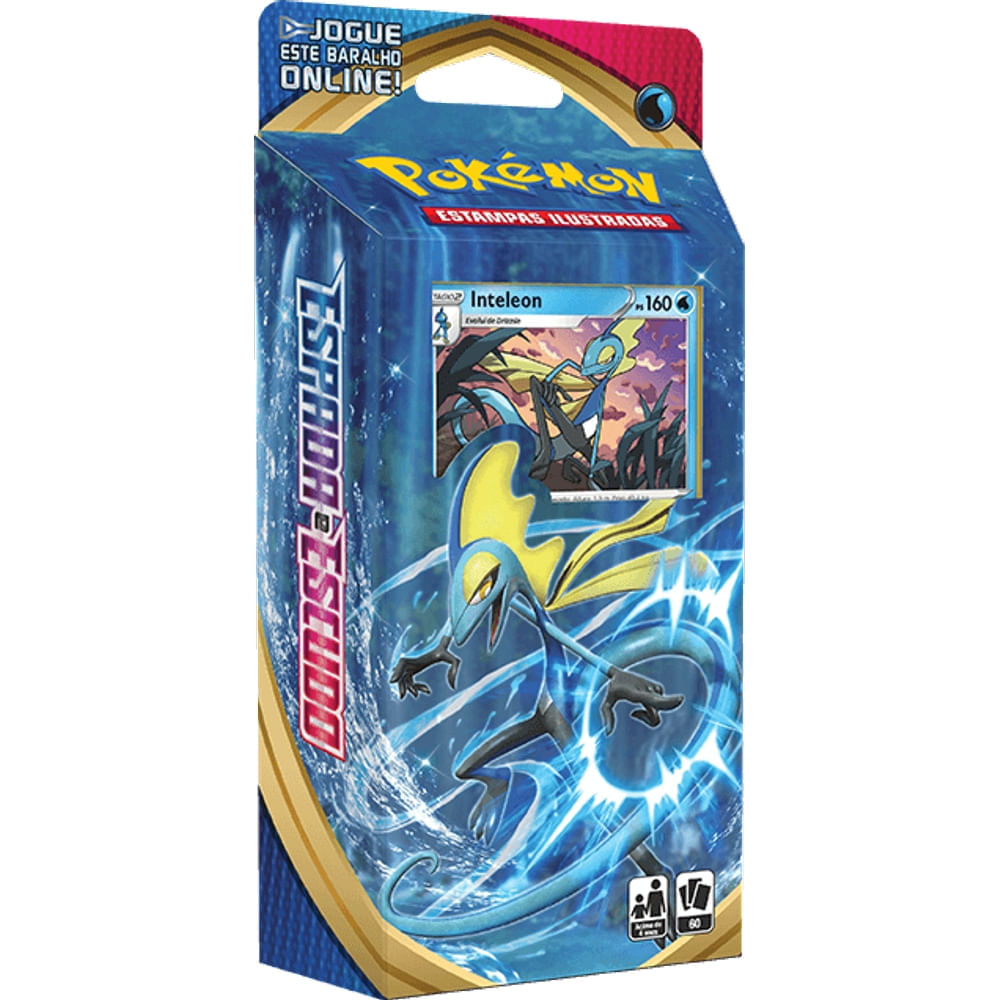 Pokemon Cartas Starter Deck - Espada e Escudo 1 - Inteleon