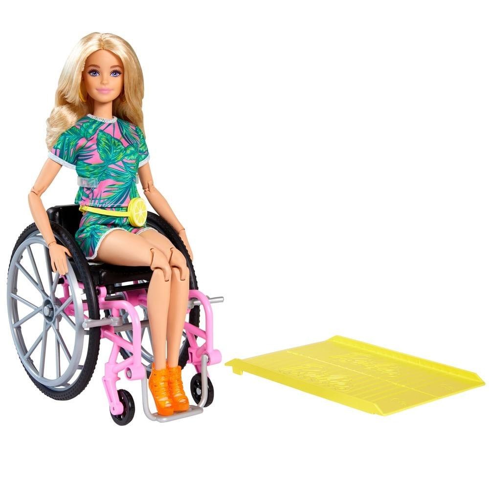 Boneca Barbie - Cadeira de Rodas - Fashionista - Mattel
