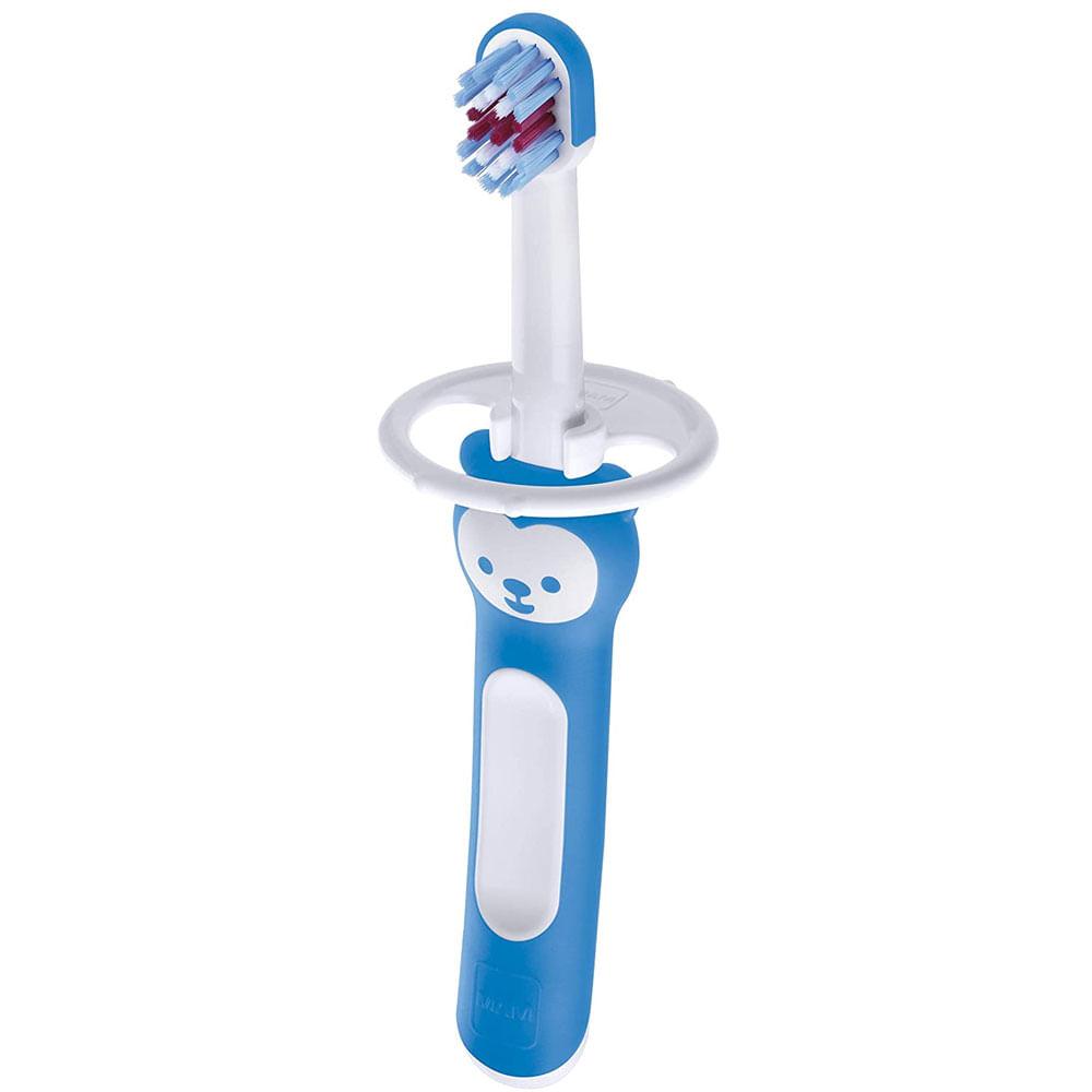 Escova de Dentes - First Brush - Urso - Azul - MAM