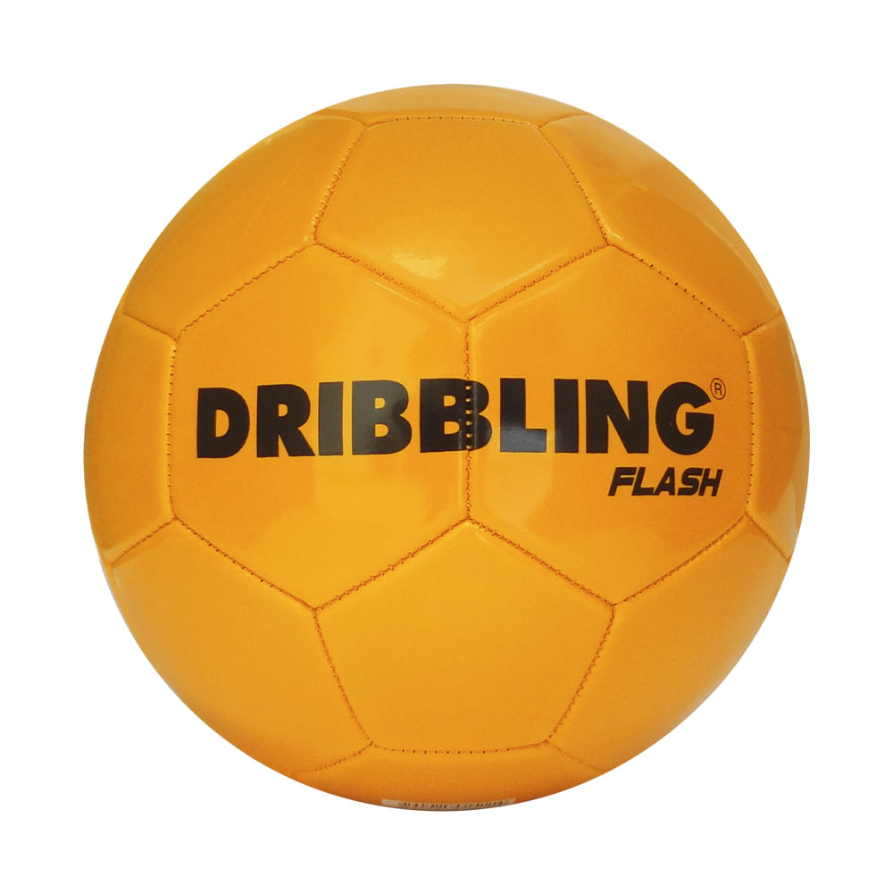 Bola de Futebol - Dribbling Flash - Laranja - Tamanho 5 - Sportcom