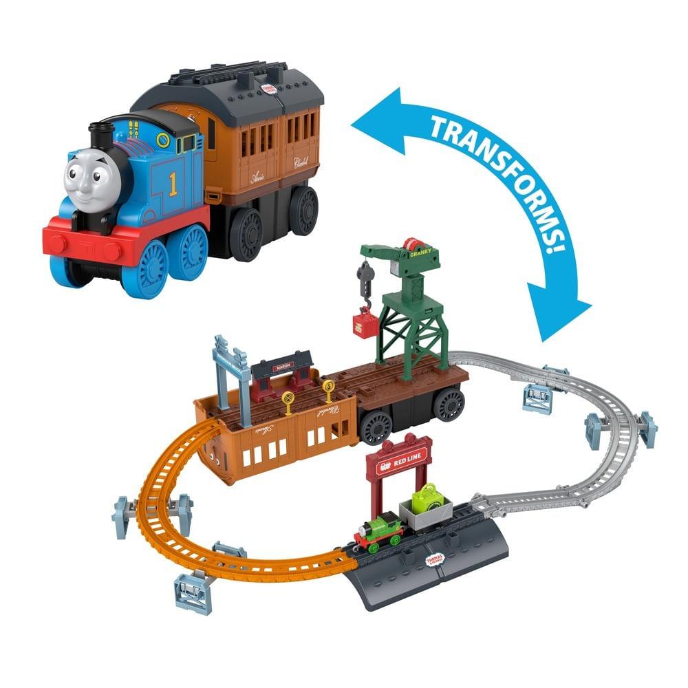 Thomas & Friends - Trackmaster - Playset Transformável - Anne e Clarabel - Mattel