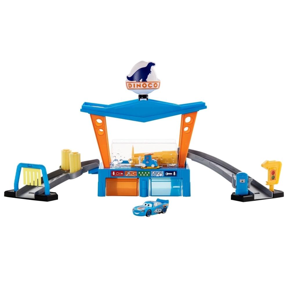 Playset Disney - Pixar - Cars Mudança de Cor Lava - Jato - Mattel