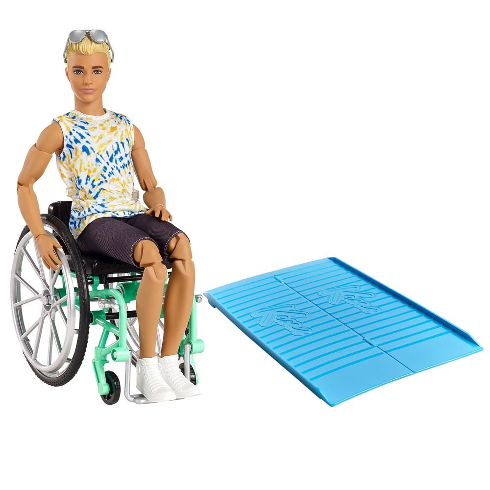 Ken Fashionista - Cadeira de Rodas - Mattel
