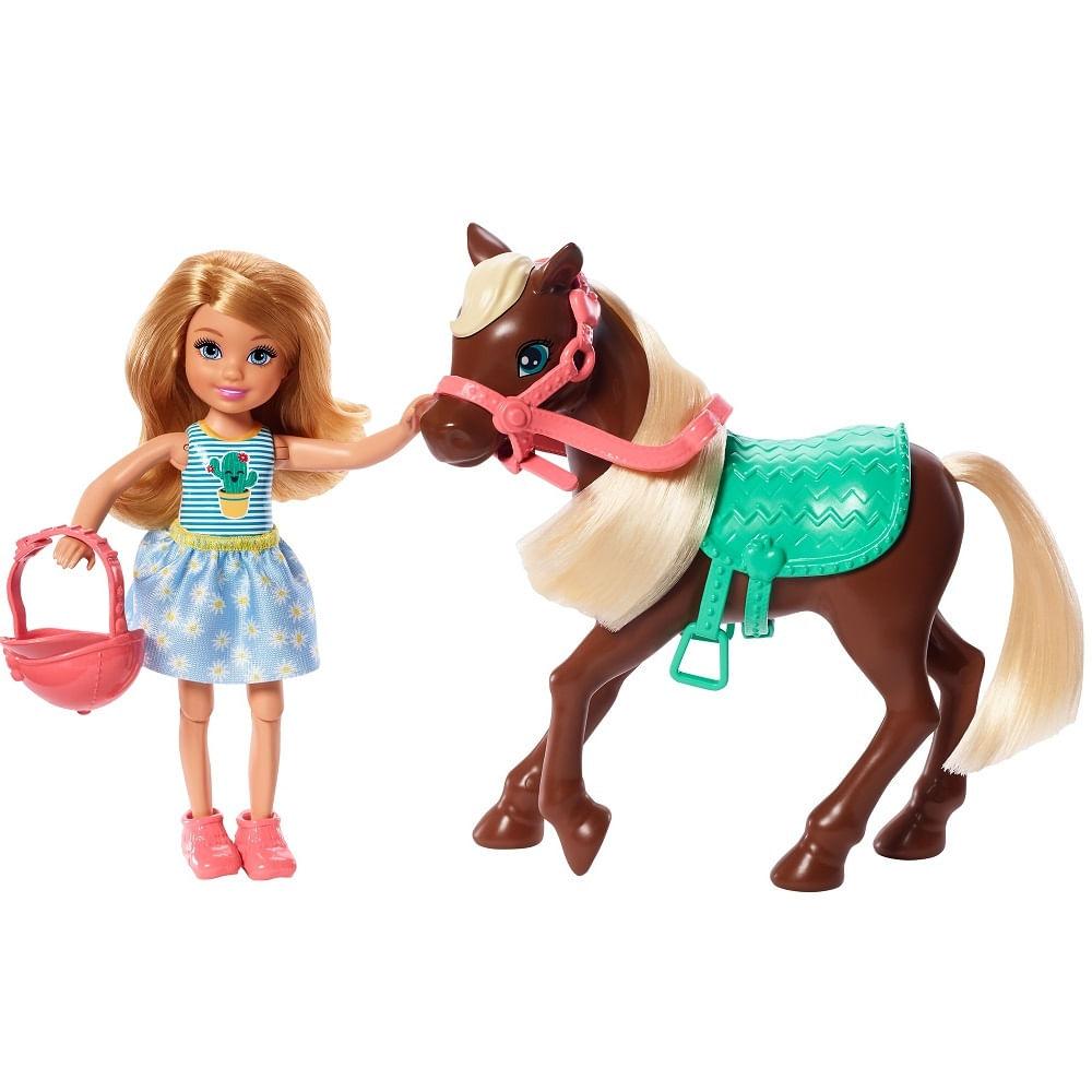 Barbie - Chelsea e Pônei - Mattel