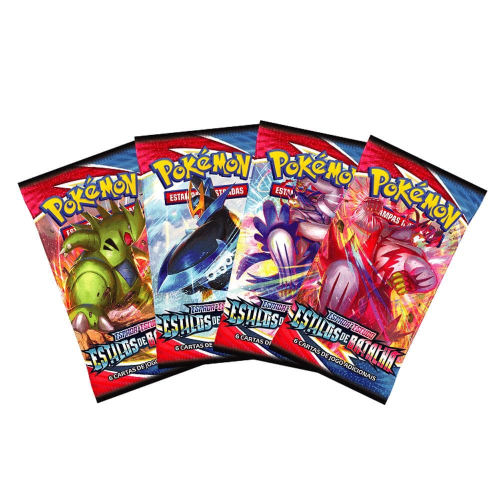 Pokémon Booster Espada e Escudo 5 - Estilos de Batalha - Copag