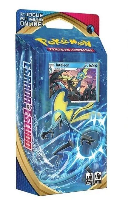 Pokémon Starter Deck Inteleon Espada e Escudo 1 - Copag