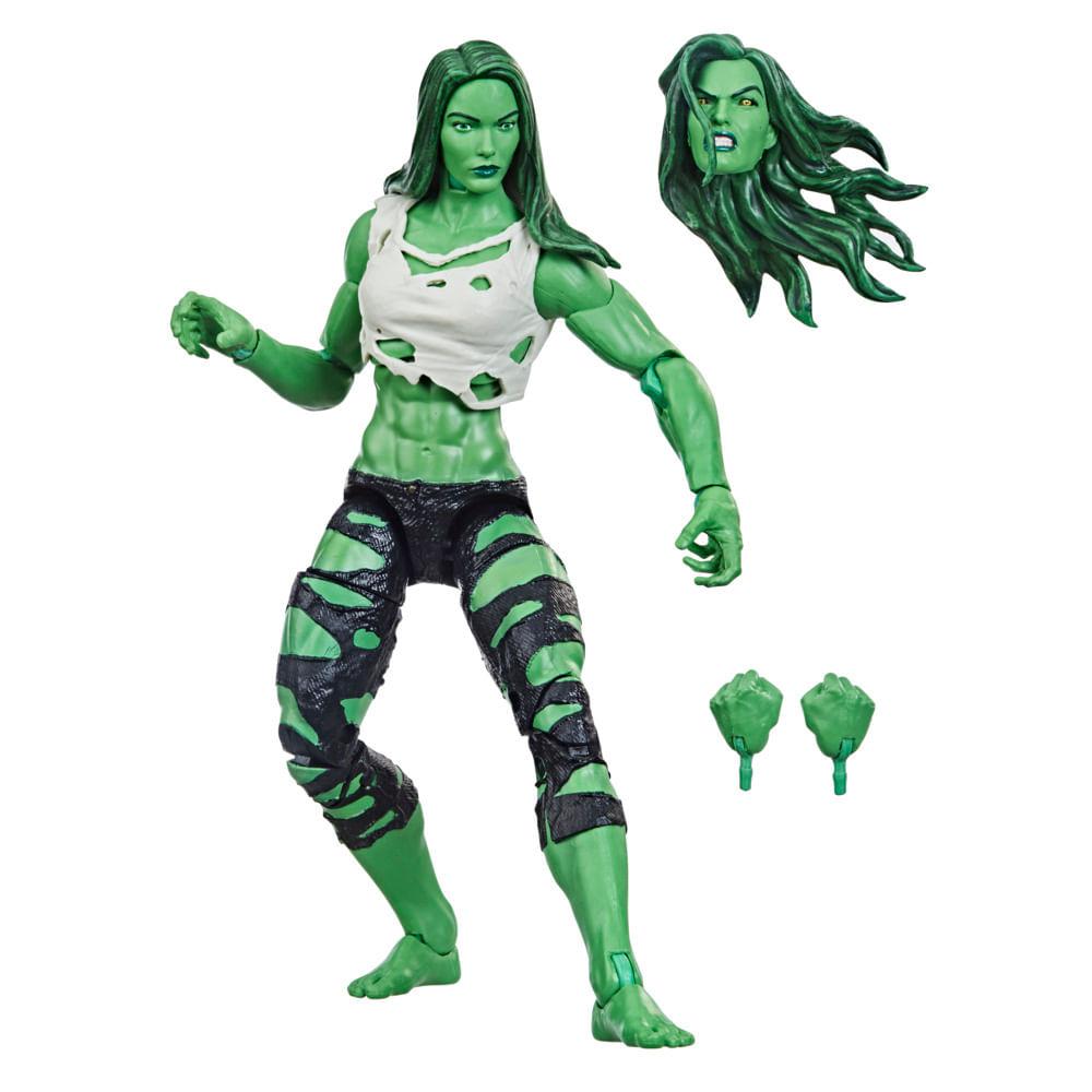 Boneca Articulada - Marvel Legends - She-Hulk - 15 cm - Hasbro