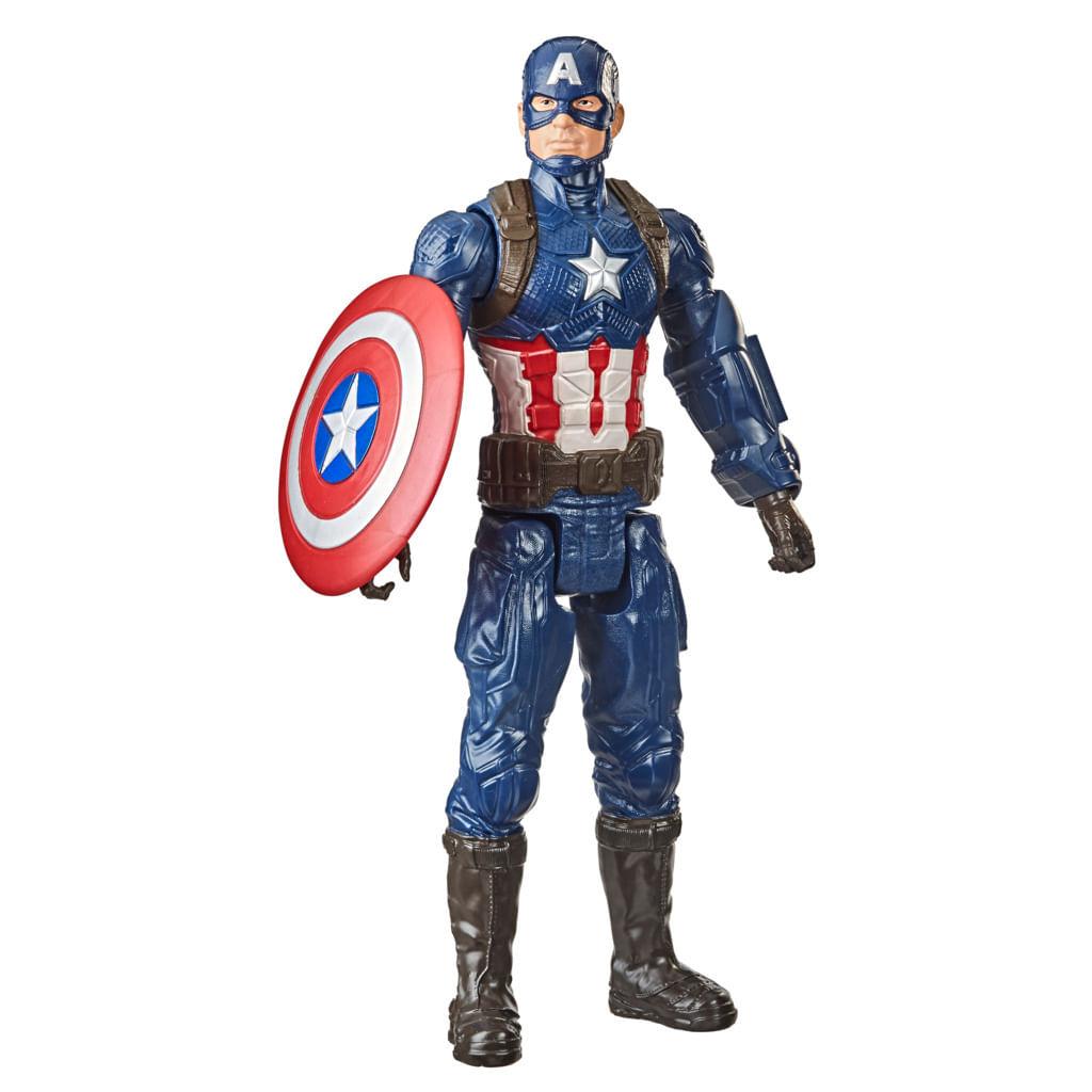 Boneco Articulado - Marvel Avengers Titan Hero - Capitão América - 30Cm - Hasbro