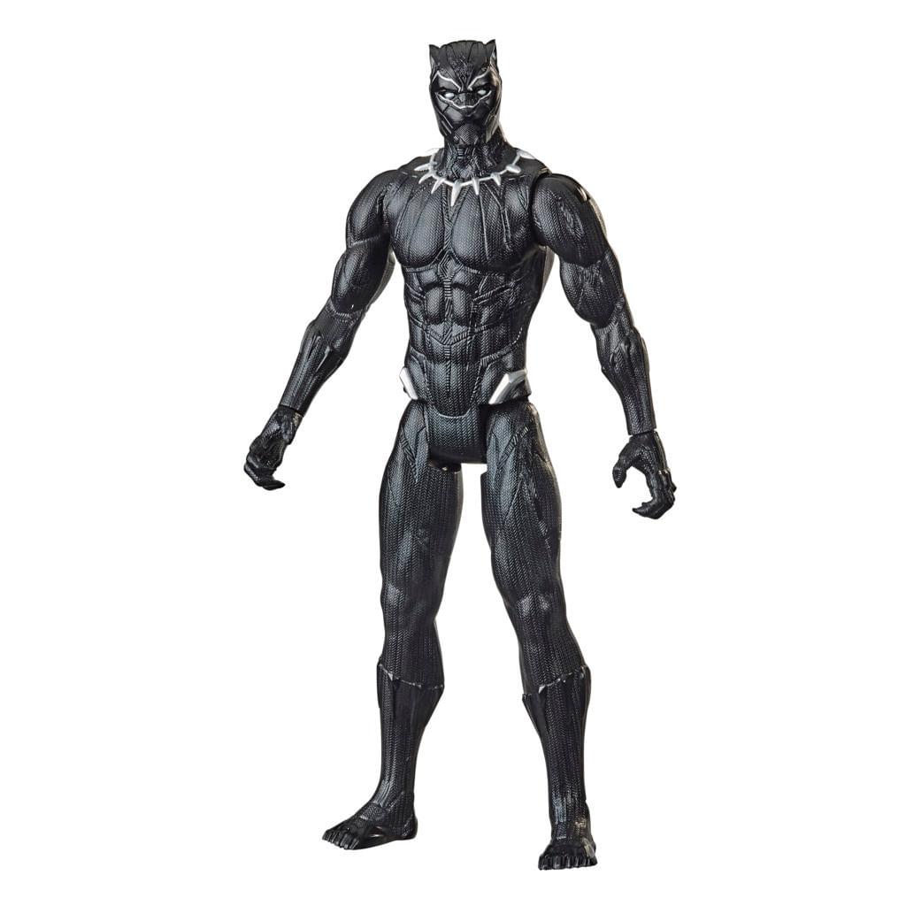 Boneco Marvel Avengers Titan Hero, Figura de 30 cm Vingadores - Pantera Negra - Hasbro