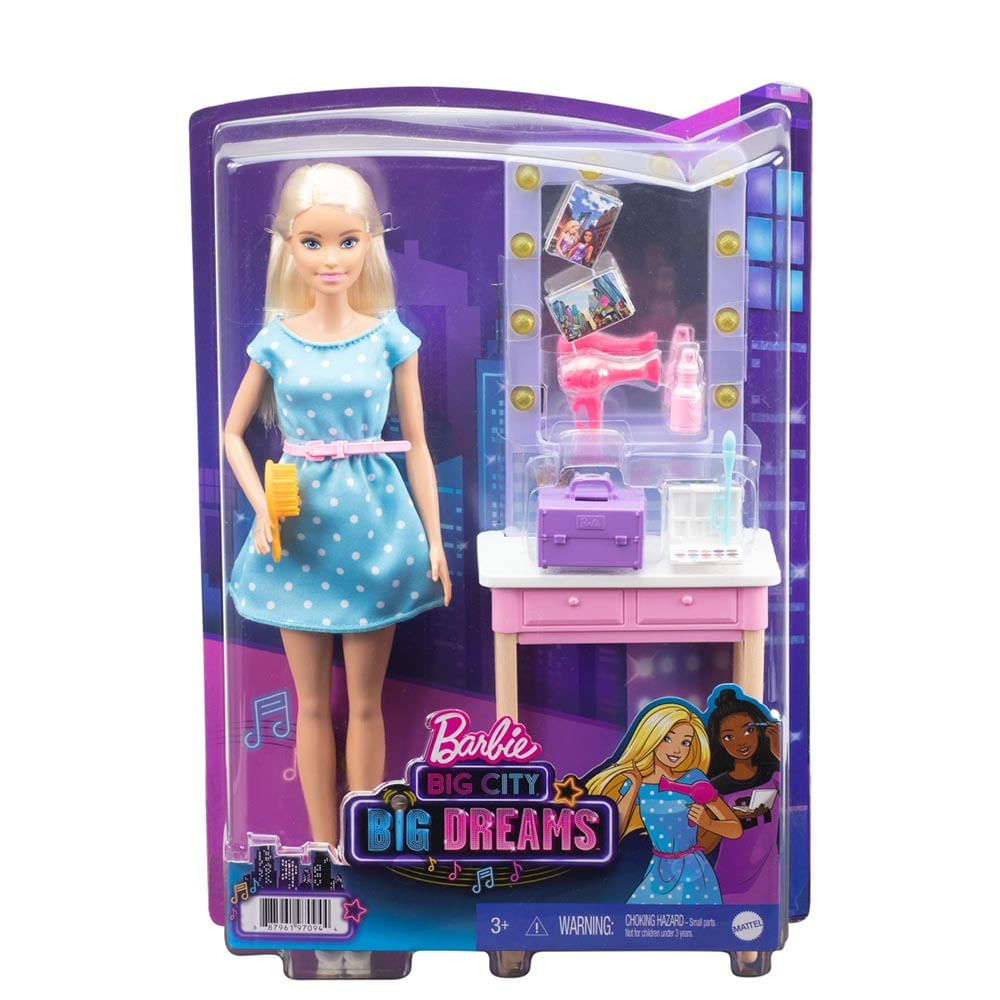 Boneca - Barbie - Dreamhouse Adventures - Backstage Malibu - Mattel