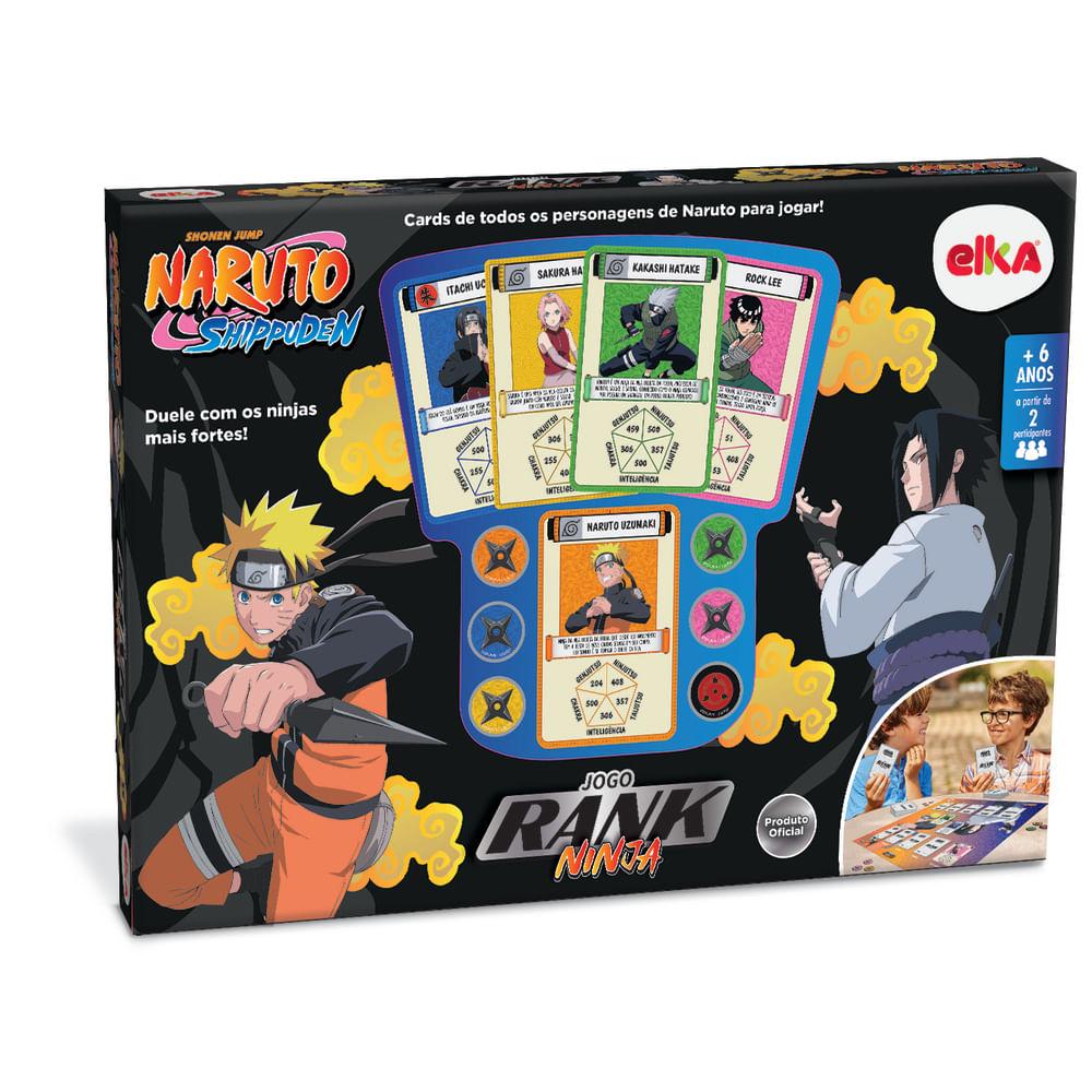 Jogo de Cartas - Naruto - Shippuden - Rank Ninja - Número de Jogadores 2 - Elka