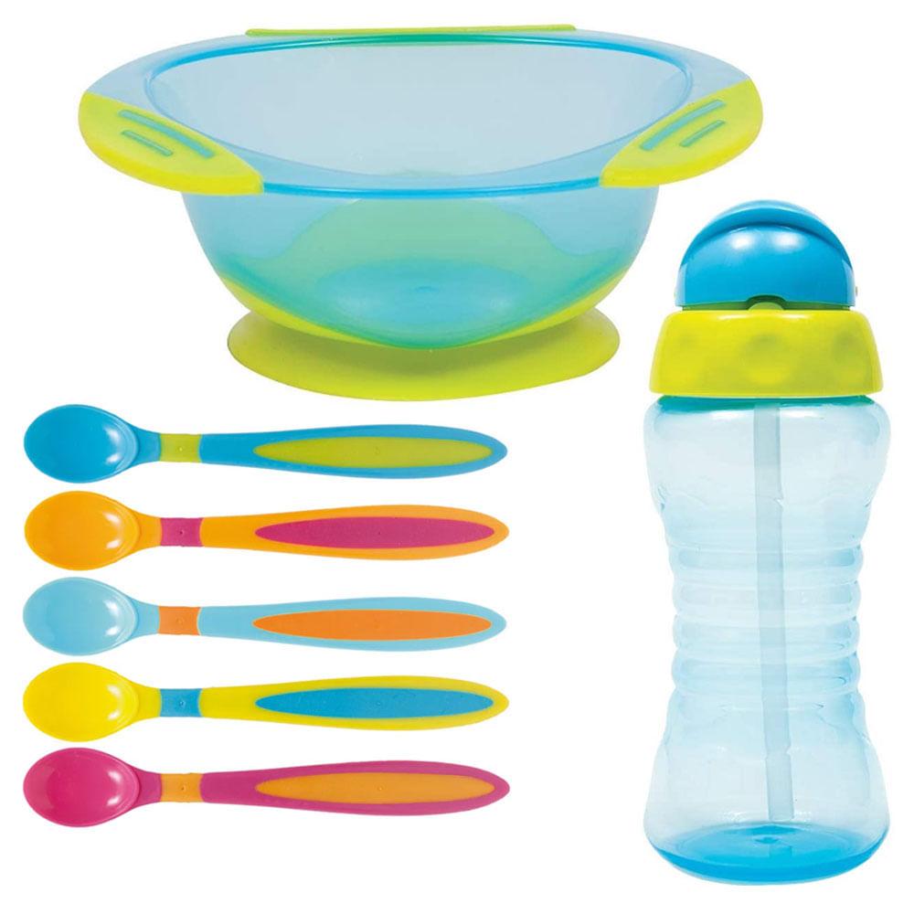 Kit de Alimentação Buba - Azul - 7 Peças