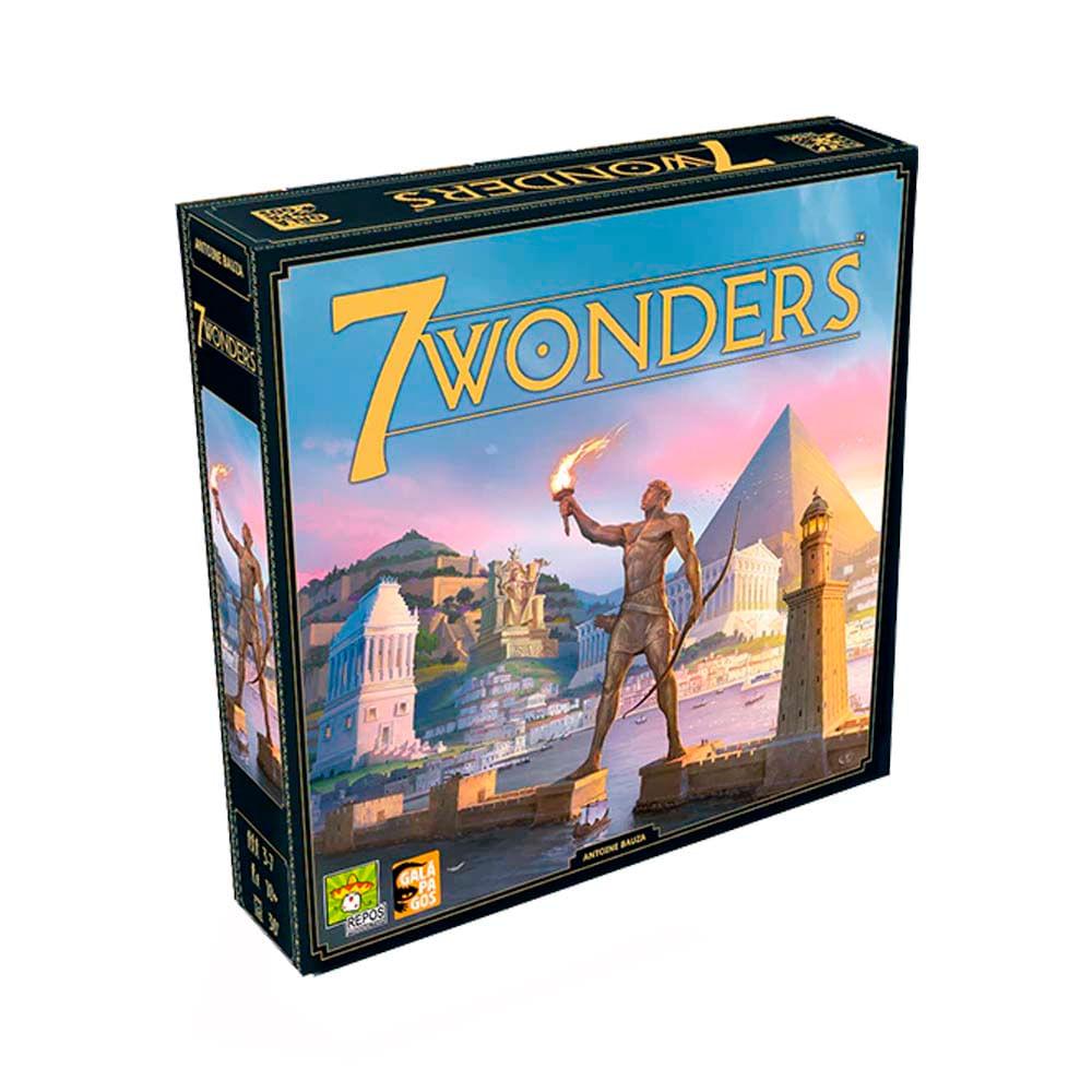 7 Wonders 2a Edição Jogo de Cartas Galapagos 7WO201