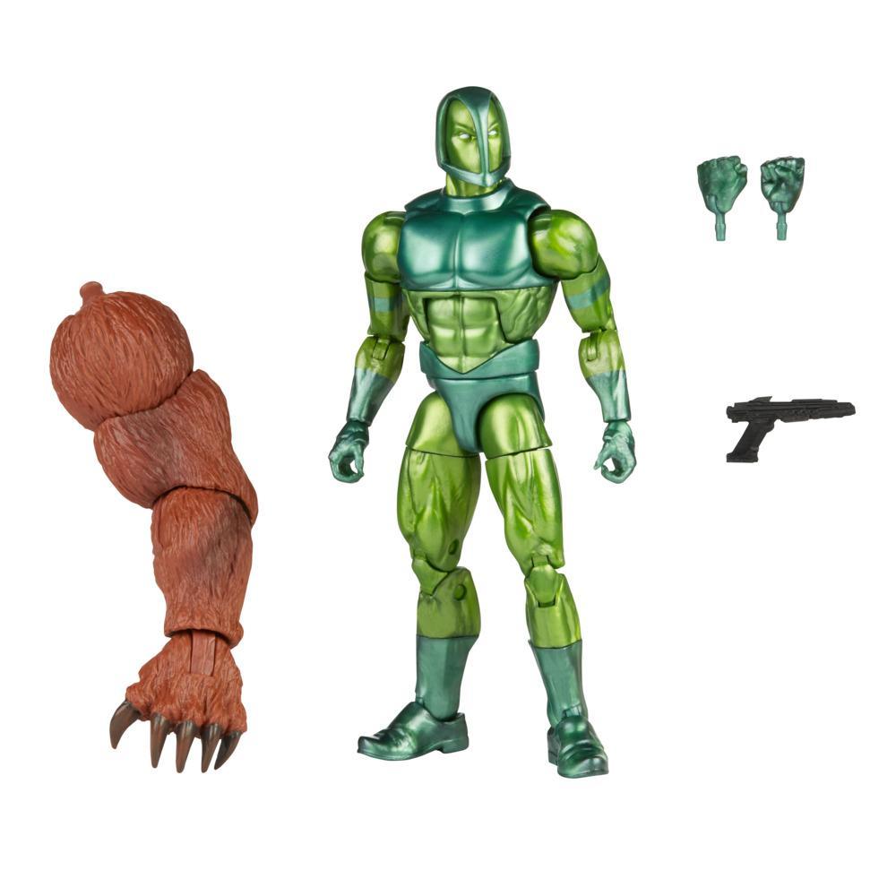 Figura Articulada - Iron Man - Legends - Marvel - Vault Guardsman - Com Acessórios - 15 cm - Hasbro