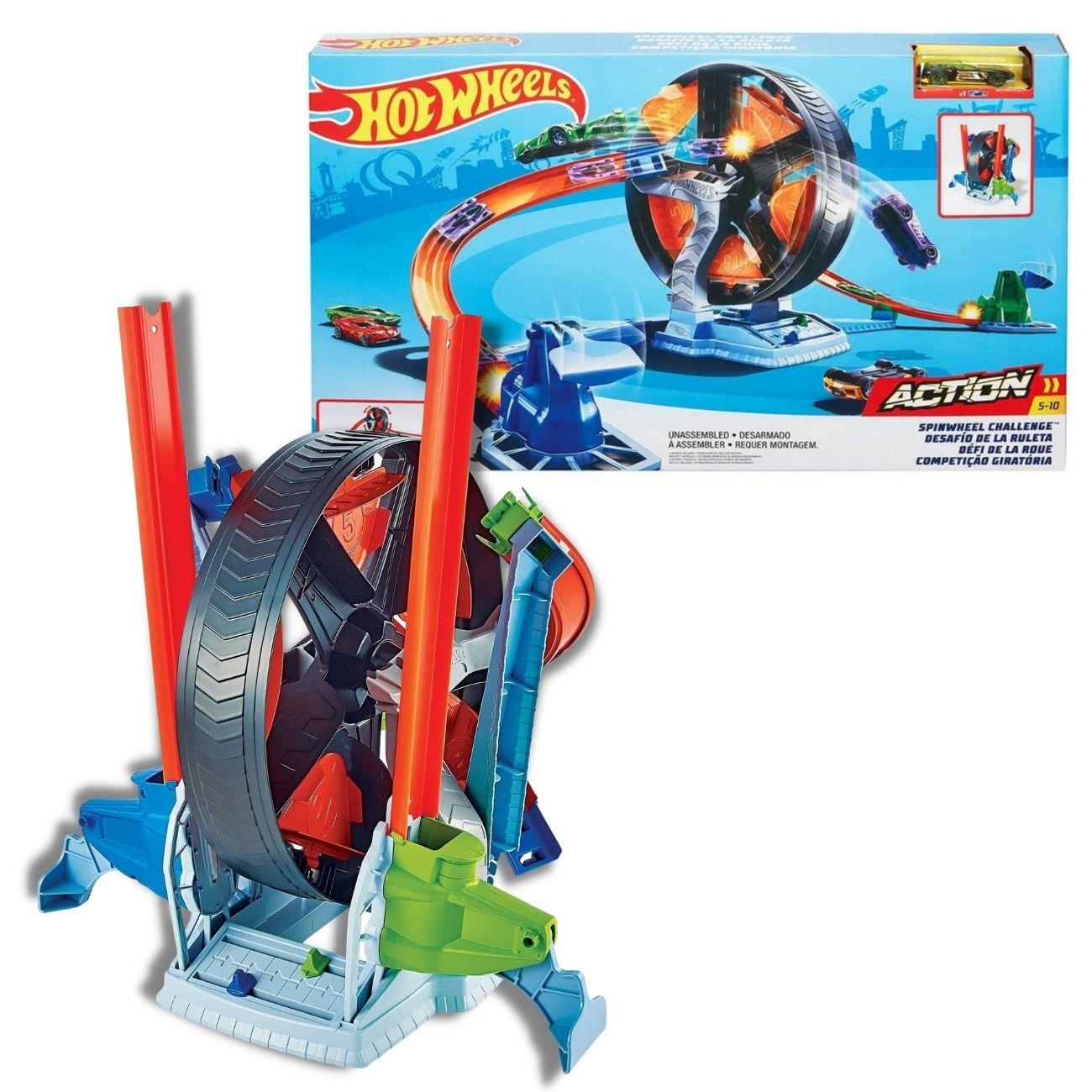 Brinquedo Pista Hot Wheels - Competição Giratória - Mattel
