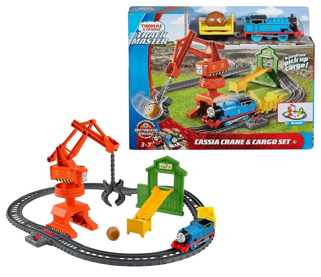 Thomas e Seus Amigos Cassia Crane e Cargo Playset Brinquedo