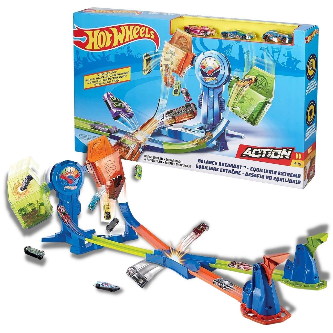 Pista Hot Wheels - Desafio do Equilíbrio - Mattel Brinquedos
