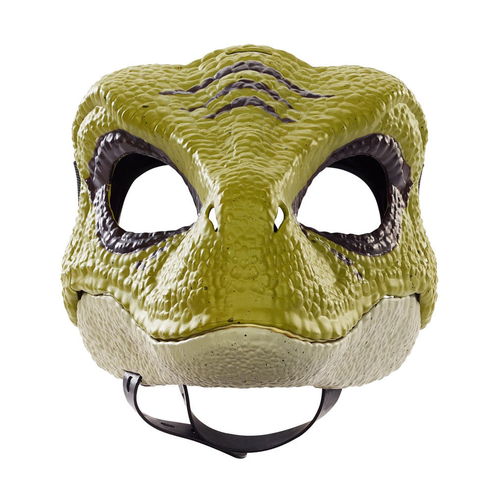 Máscara Básica - Jurassic World 2 - Velociraptor Verde - Mattel