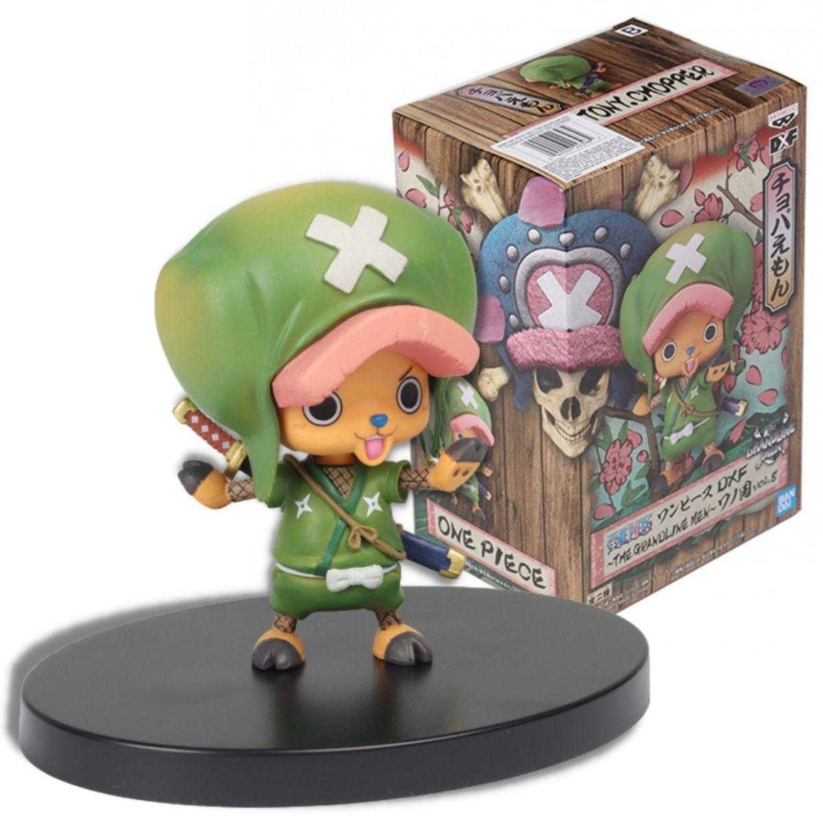 Boneco Chopper - One Piece The Grandline Men Vol 8 - Bandai