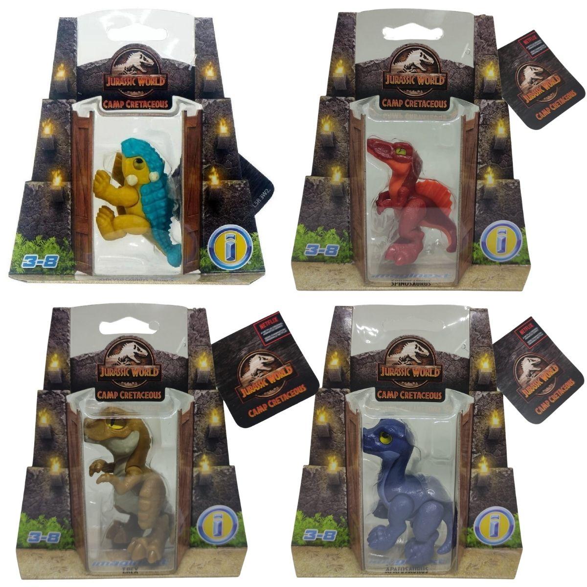 Dinossauro Bebe Jurassic World - Pack com 4 Figuras - Mattel