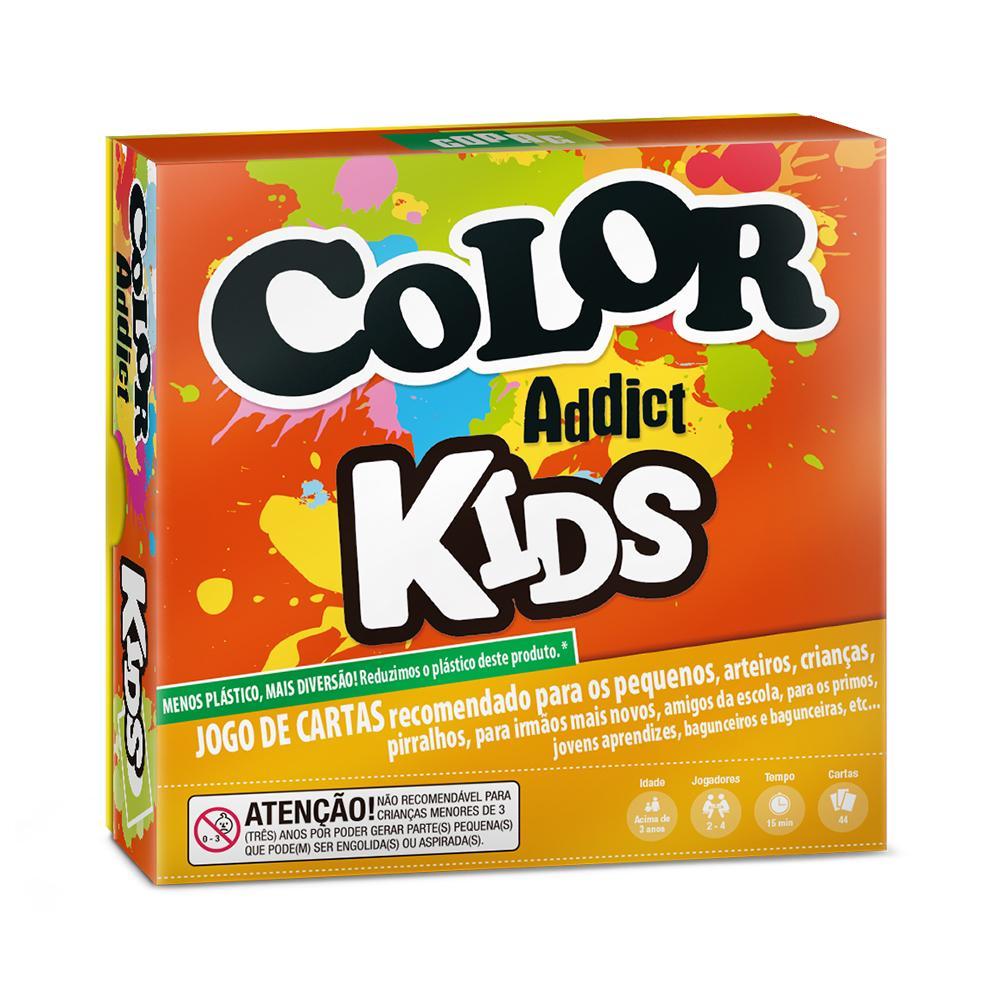 Jogo de Cartas - Color Addict Kids - 2 a 4 Jogadores - Copag