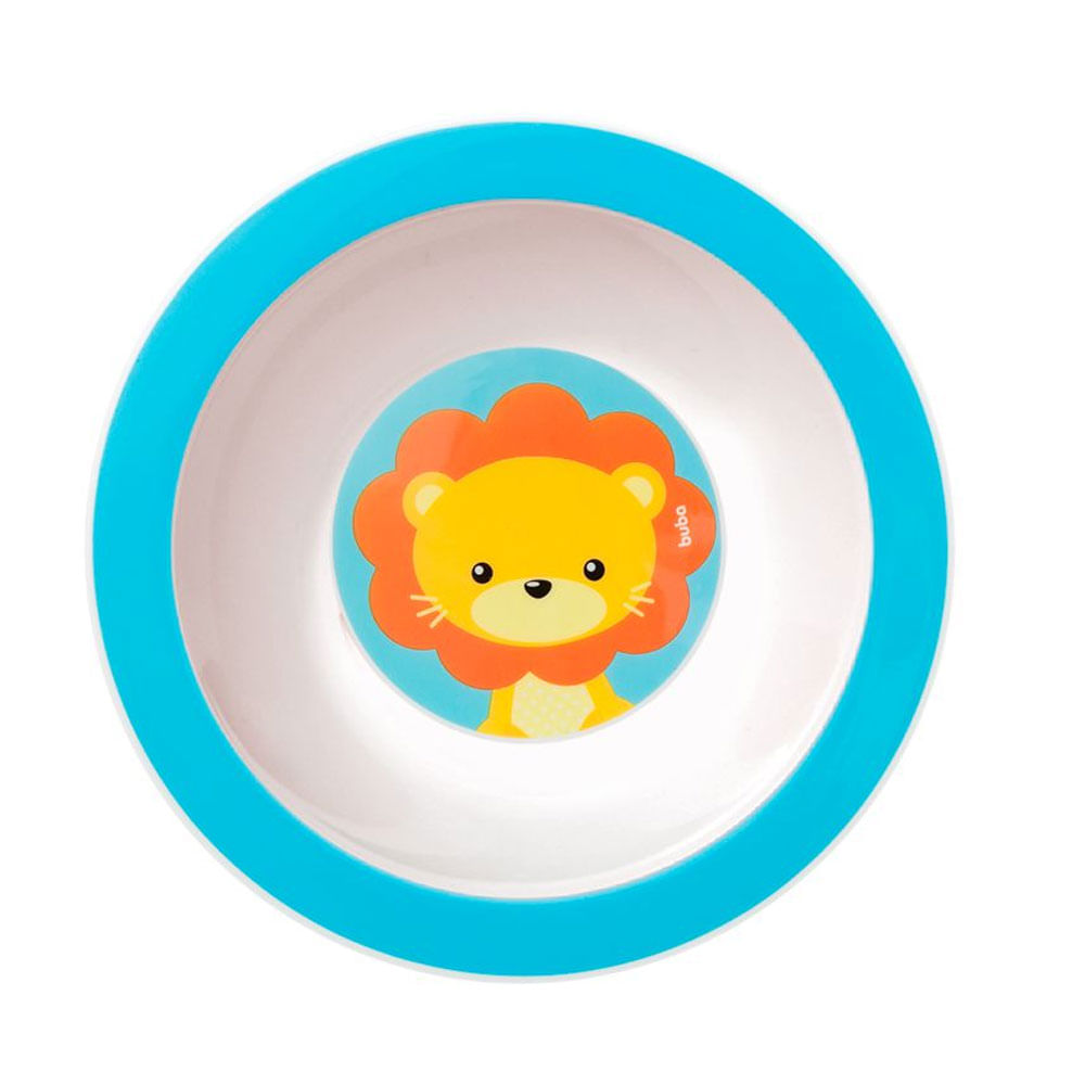 Pratinho Bowl - Animal Fun - Leão - Buba
