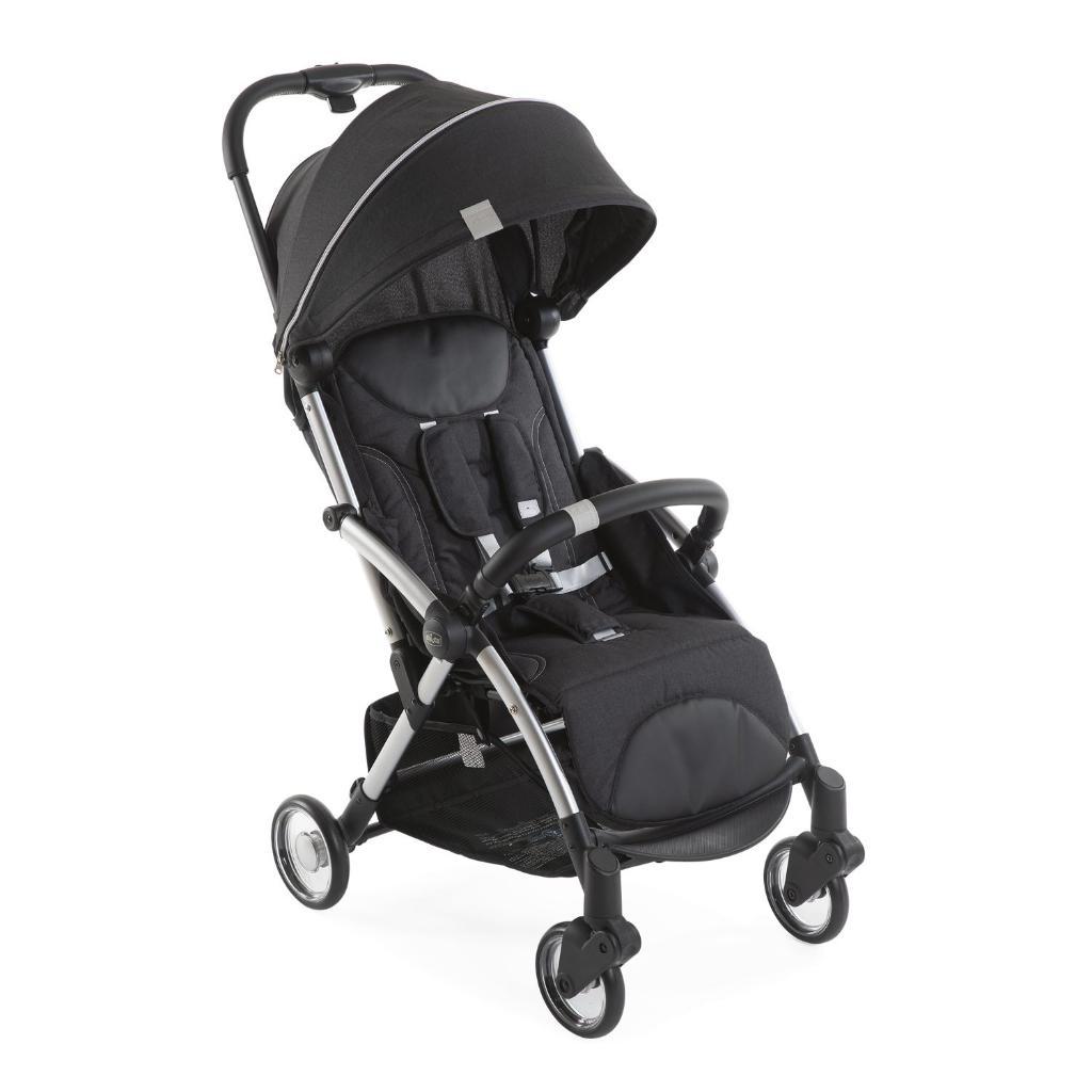 Carrinho de Bebê - Passeio - Chicco - Goody Plus - De 0 a 15 Kg - Graphite