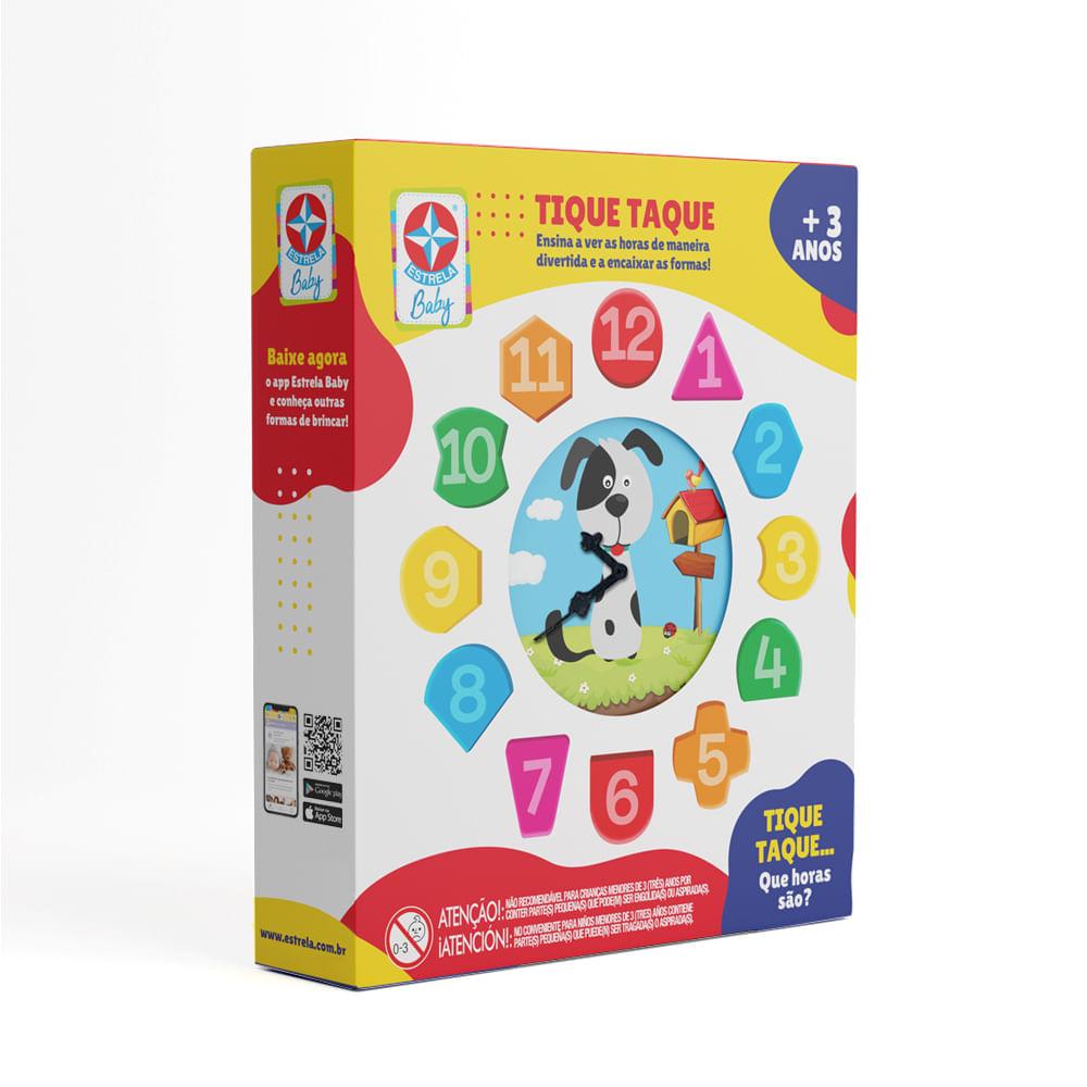 Relógio Tique Taque - Estrela