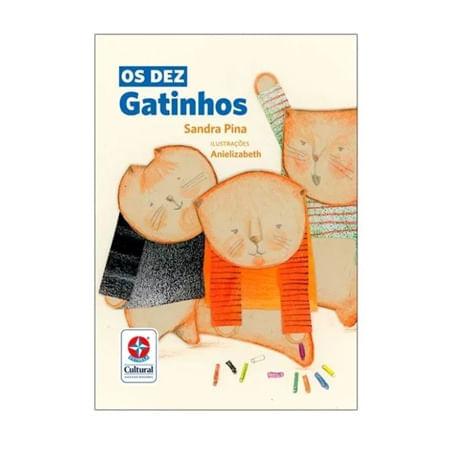 Livro Os Dez Gatinhos - Estrela Cultural