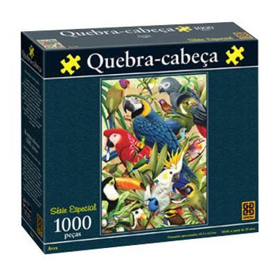 Quebra-Cabeça - Aves - 1000 Peças - Grow