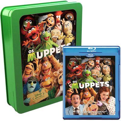 Blu-Ray - Os Muppets + Lata Os Muppets - Disney