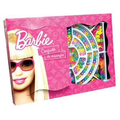 Conjunto de Miçangas - Barbie - Barão Toys