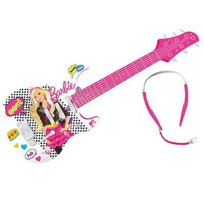 Guitarra Eletrônica de Luxo - Barbie - Fun