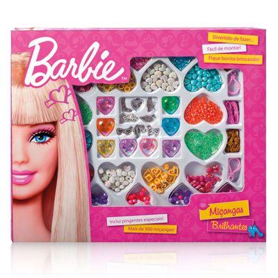 Miçangas Brilhantes - Barbie Grande - Barão Toys