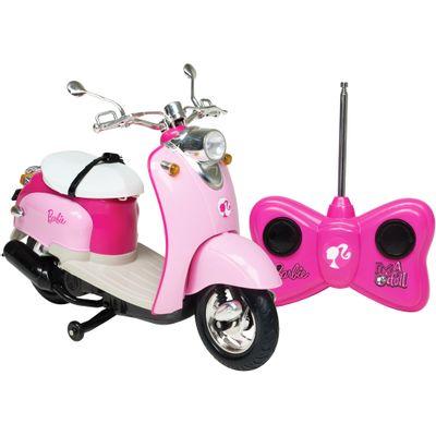 Moto de Controle Remoto - Barbie Moto Glamour - Candide