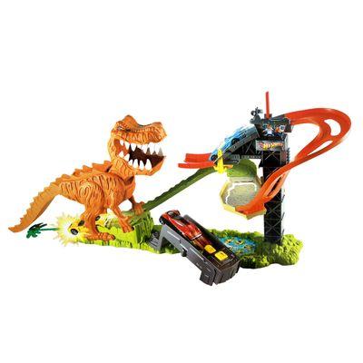 Pista Hot Wheels - Ataque do T-Rex - Mattel