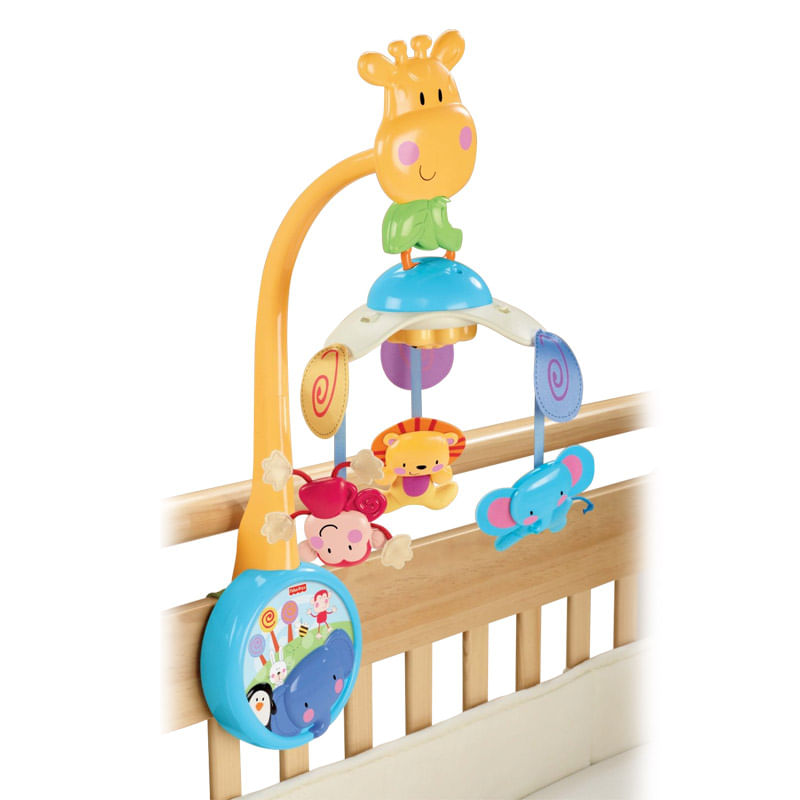 Móbile Zoo Musical 2 em 1 - Fisher - Price
