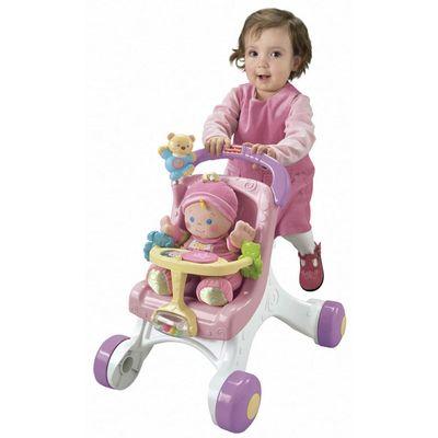 Primeiros Passos - Meu Primeiro Carrinho de Bebê - Fisher-Price