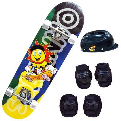 Skate com Acessórios - Solzinho