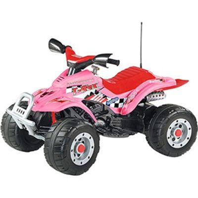 Mini Quadriciclo Rosa Corral T-Rex para meninas