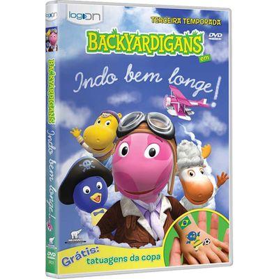 DVD - Backyardigans - Indo Bem Longe - 3a Temporada