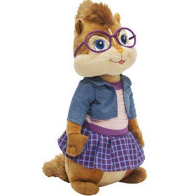 Pelúcia - Alvin e os Esquilos - Jeanette Pequena - BBR
