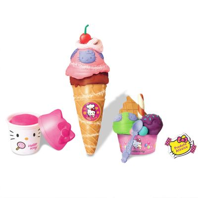 Massinha Hello Kitty - Sorveteria - Sunny