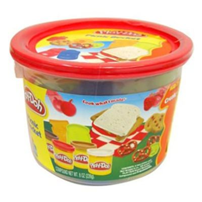 Massinha Play-Doh - Mini Balde Picnic - Hasbro