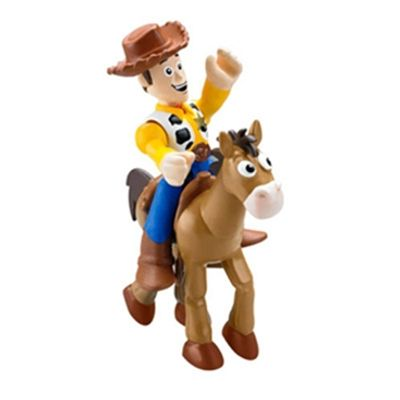 Bonecos Woody e Bala no Alvo - Imaginext Toy Story 3 - Fisher-Price