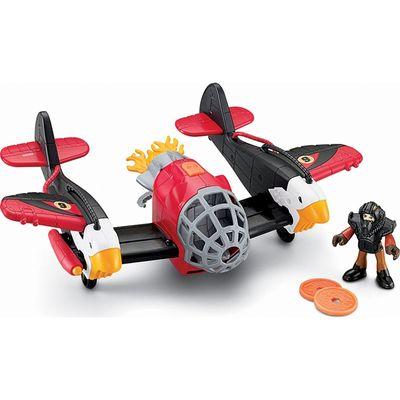 Avião Águia Vermelha - Imaginext Sky Racers - Fisher-Price